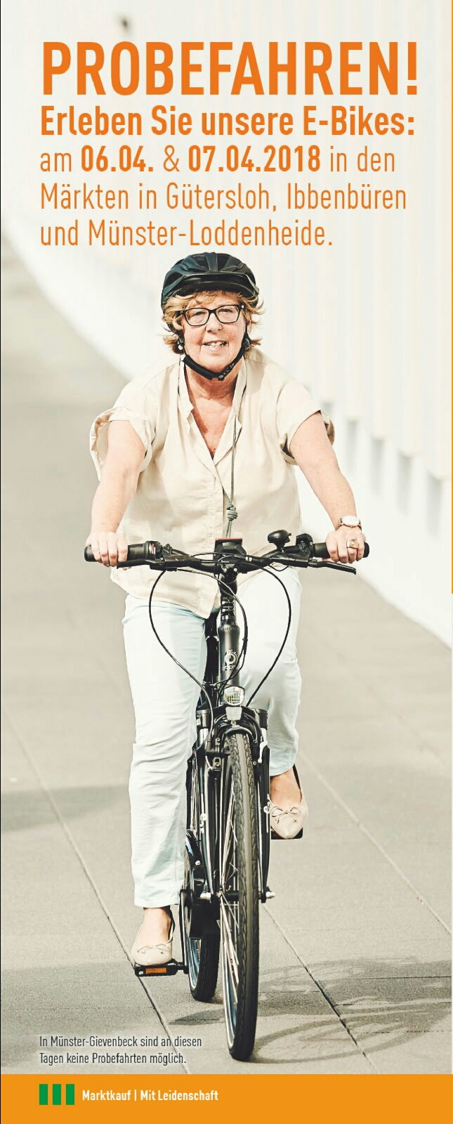 E-Bike Testfahrt!