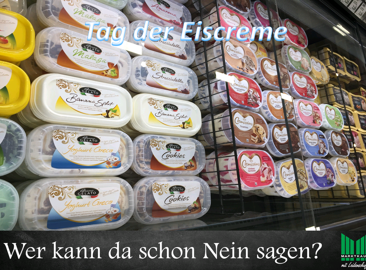 Tag der Eiscreme